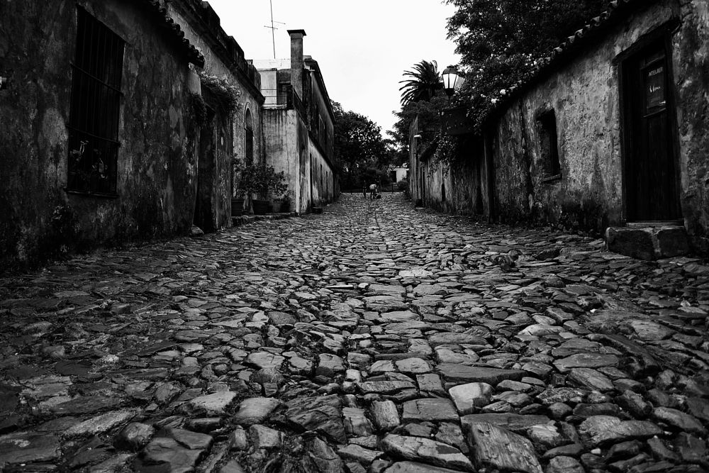 Photo in Black and White #black and white #slope #street of sighs #travel #inspiration #fred matos