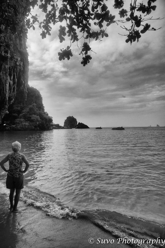 Photo in Travel #krabi #thailand #four islands #black & white #travel #beach #seaside