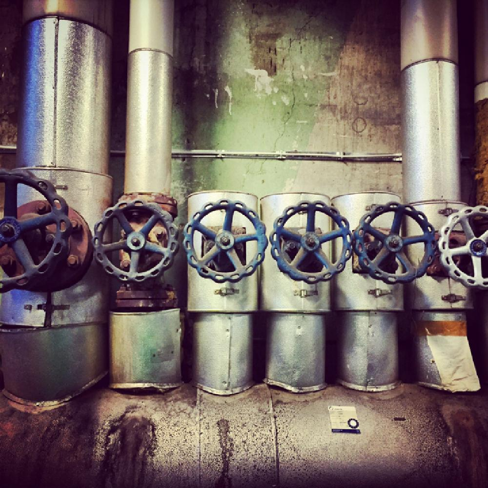 Photo in Industrial #factory #pipes #old