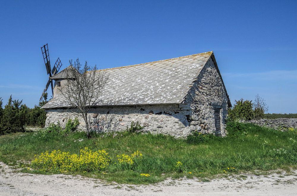 Photo in Architecture #house #cottage #limestone #spring #canon #gotland