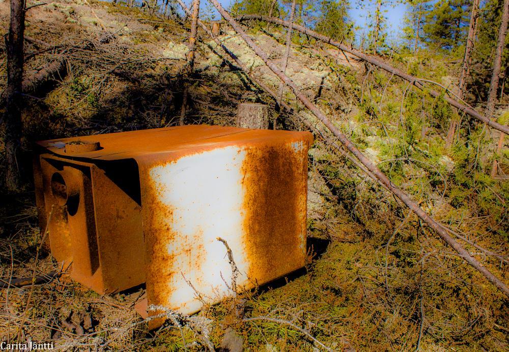 Photo in Random #trash #forest #spring #finland