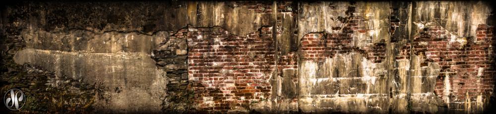 Photo in Fine Art #wall #weather #bricks #decay #grunge