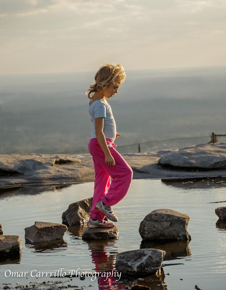 Photo in People #stone #montain #girl