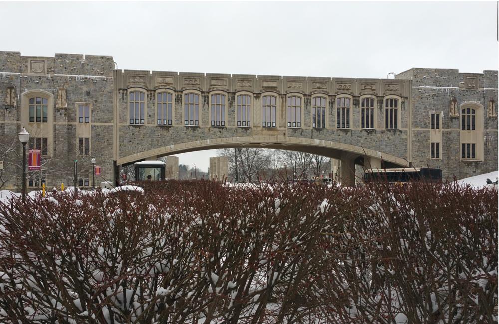 Photo in Architecture #university #virginia #snow storm