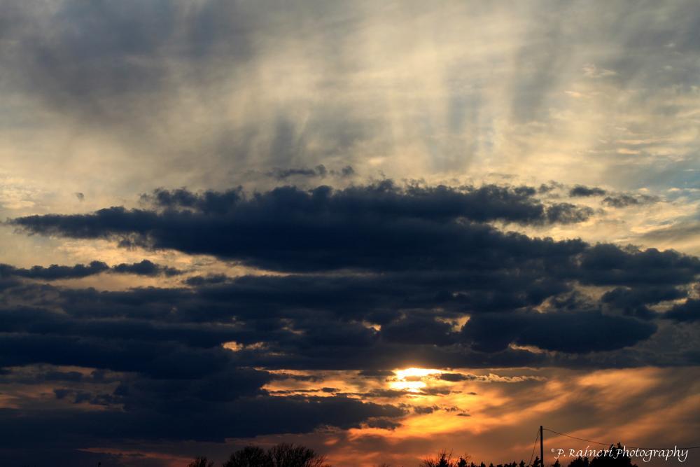 Photo in Landscape #sunsets #sun #random #nature #landscape #clouds