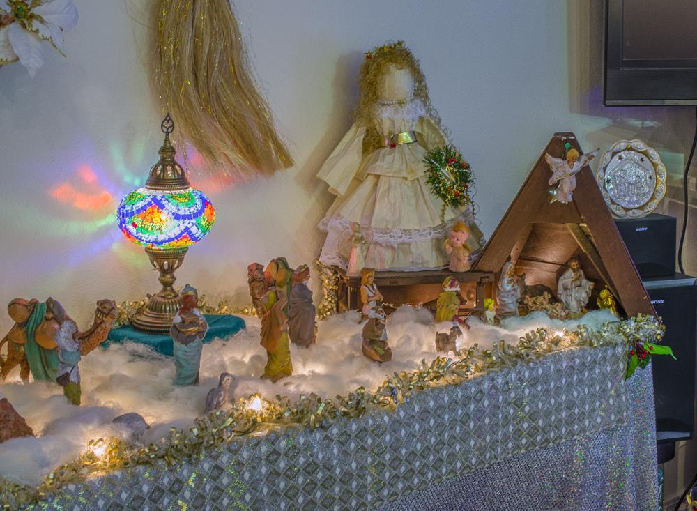 Photo in Interior #christmas #nativity #nikon