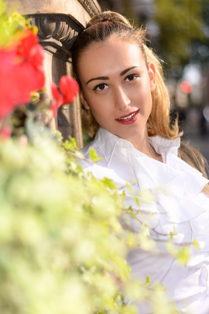 Photo in Portrait #portrait #outdoor #female #young lady #seductive #morning
