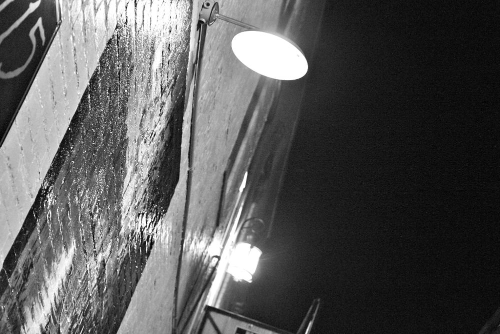 Photo in Cityscape #evening #lights #black #white