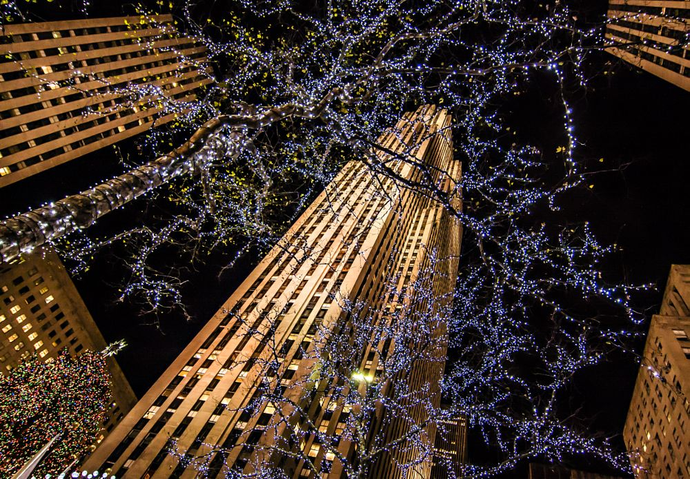 Photo in Cityscape #nyc #city #christmas