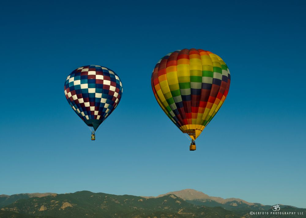 Photo in Travel #aerostat #air balloon #air balloons #colorado #colorado balloon festival #colorado rockies #colorful balloon #colorful globe #festival #globos #hot air balloon #hot air balloon festival #pikes peak