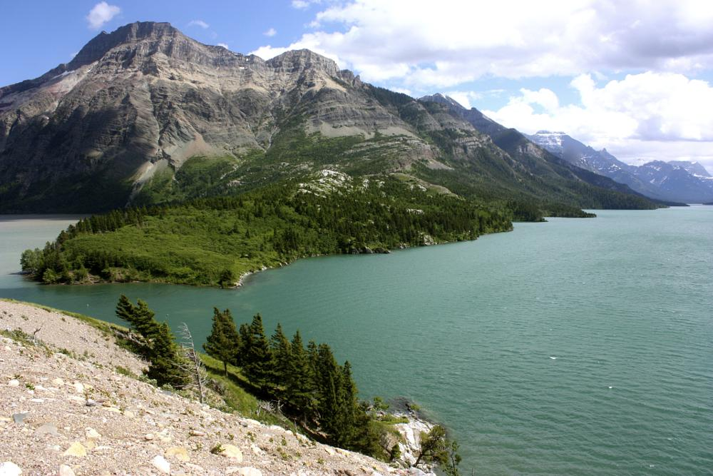 Photo in Landscape #mountain lake #water