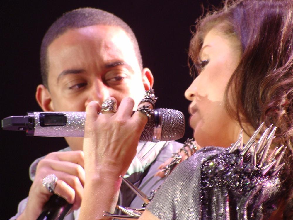 Photo in Concert #ludacris #concert #black eyed peas