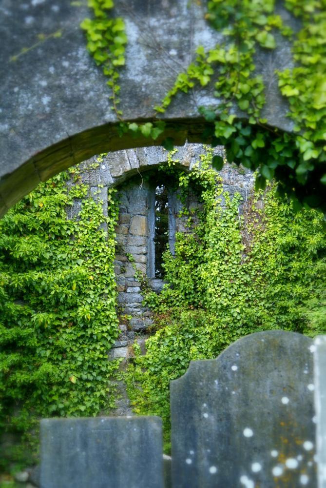 Photo in Landscape #graveyard #vintage #landscape #ireland
