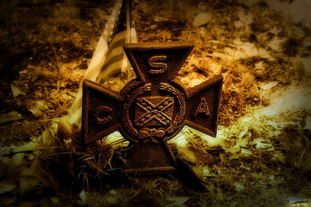 Photo in Random #soldier #cival war #cemetery