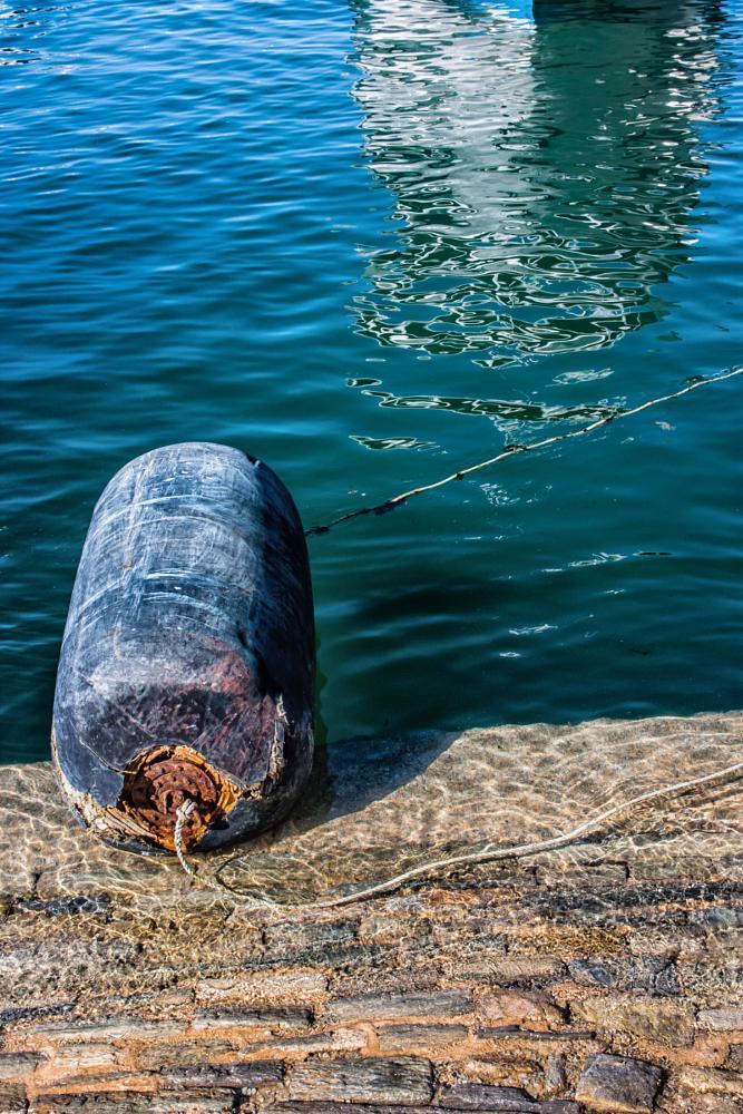 Photo in Random #reflet #bateau #bouée