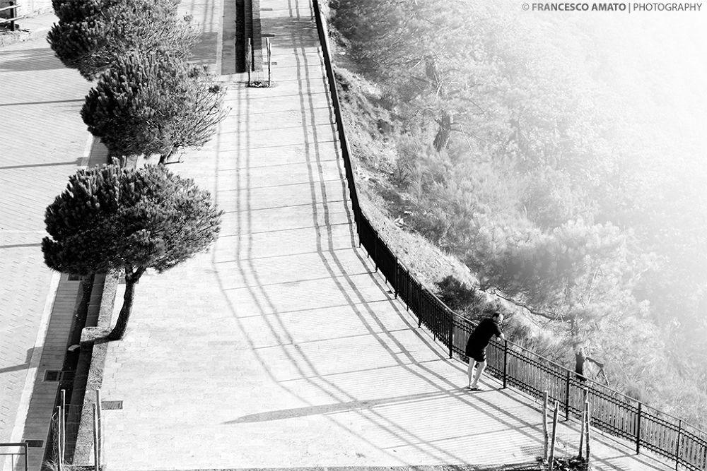 Photo in Black and White #sicilia #dinnamare #messina