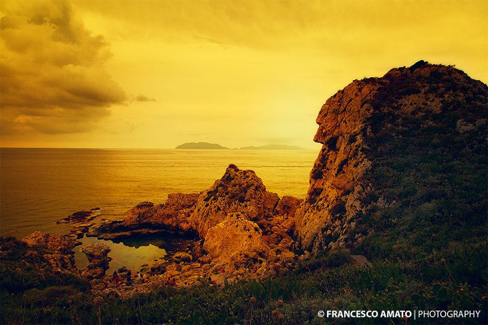 Photo in Landscape #sicilia #messina #piscina di venere #milazzo #isole eolie #eolie #sicily #landscape