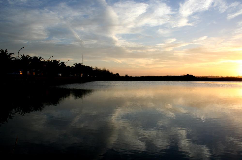 Photo in Nature #ria #portugal #aveiro #water #river #sunset