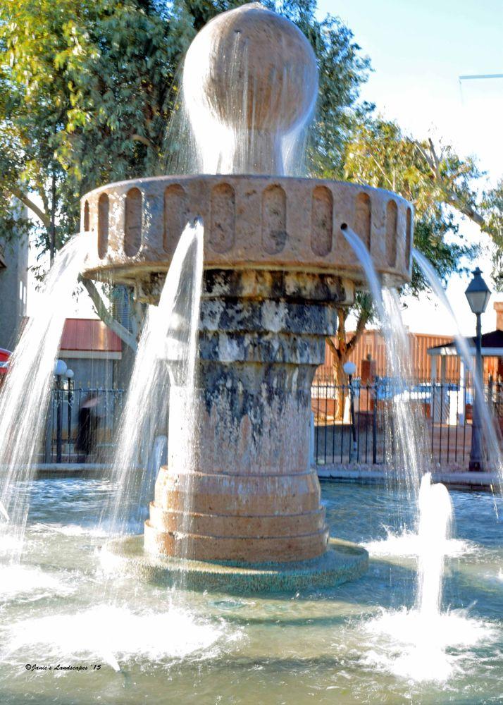 Photo in Architecture #fountains #lake havasu #arizona fountains