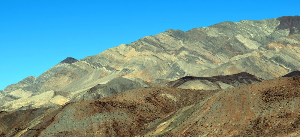 Photo in Landscape #death valley national park #rock formations #rocks and the desert