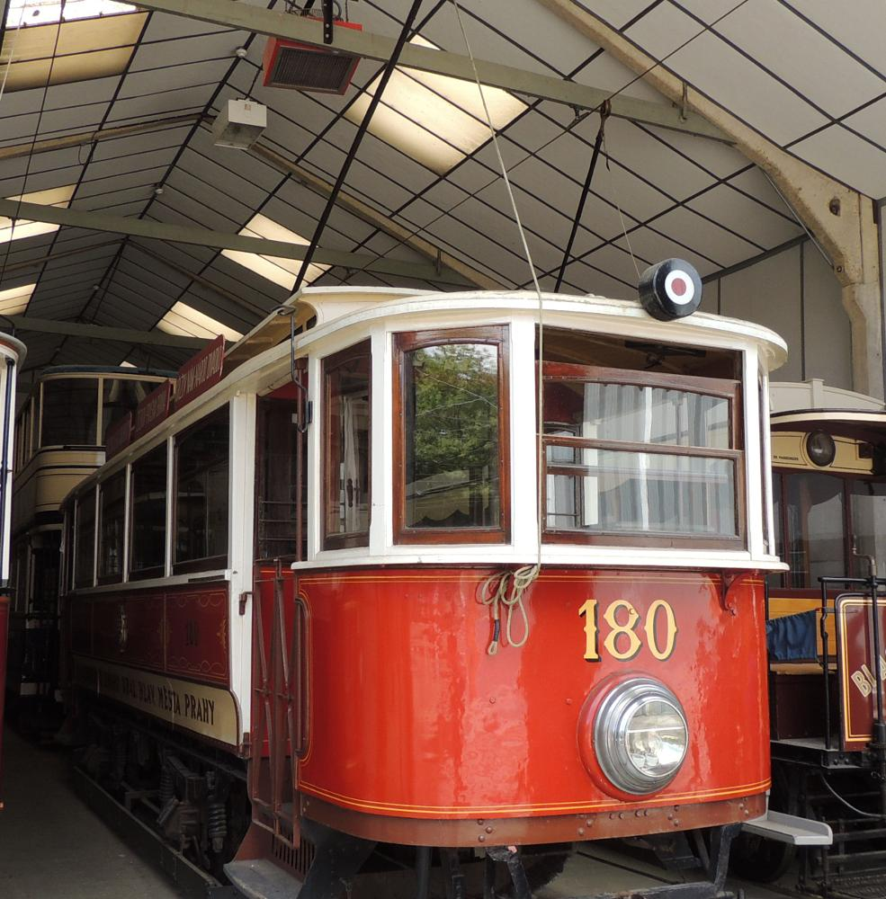 Photo in Vehicle #crich tramway village museum #crich #prague tram #tram #1908