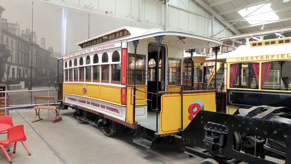 Photo in Vehicle #crich tramway village museum #crich #tram #oporto tram #1873