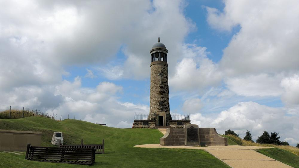 Photo in Architecture #the sherwood foresters memoria #crich #memorial #sherwood foresters