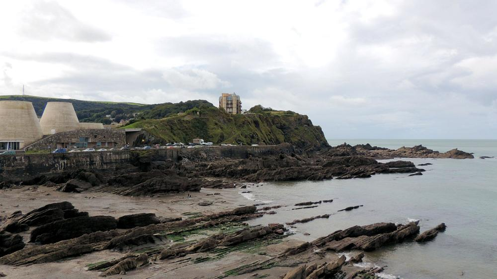 Photo in Sea and Sand #looking west across ilfracombe #ilfracombe #sea