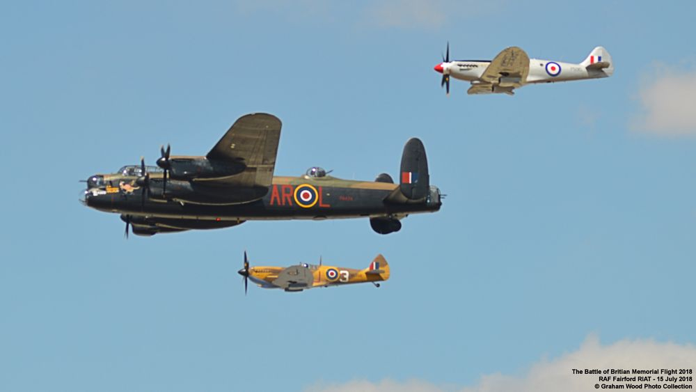 Photo in Vehicle #the battle of britian memorial #bbmf #riat #aircraft