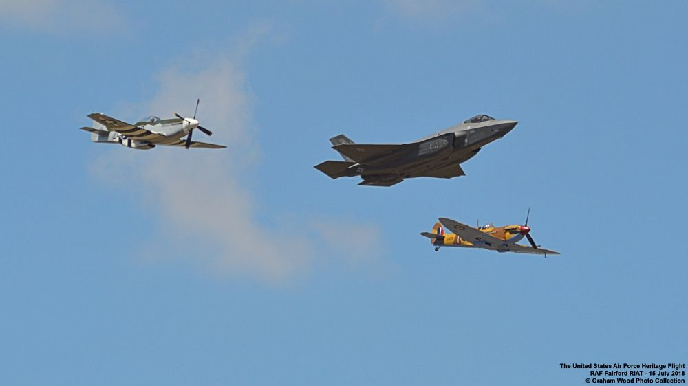 Photo in Vehicle #the united states air force he #jet #aircraft #spitfire #mustang #f35a #riat
