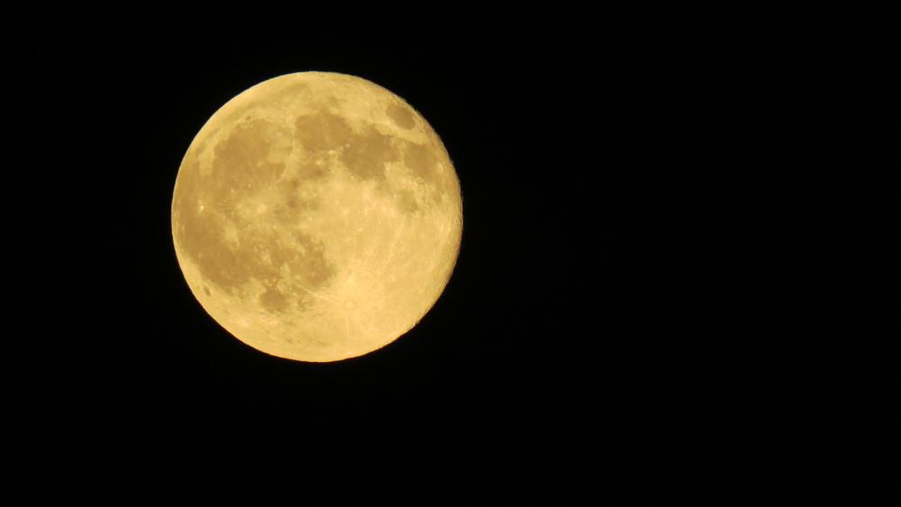 Photo in Astrophotography #blue moon 3