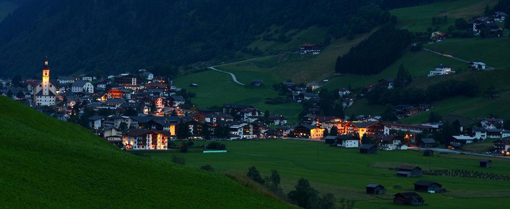 Photo in Cityscape #austria #landscape #night #village #country