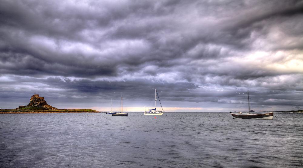 Photo in Random #holy island #lindisfarne castle #uk #england #island #sea