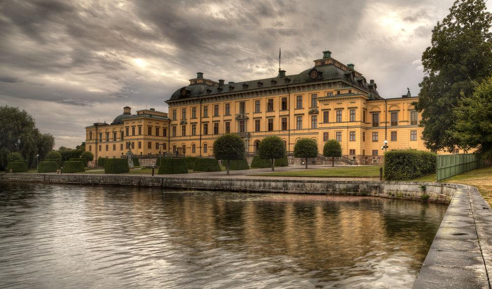 Photo in Random #dronttingholm #swden #stockholm