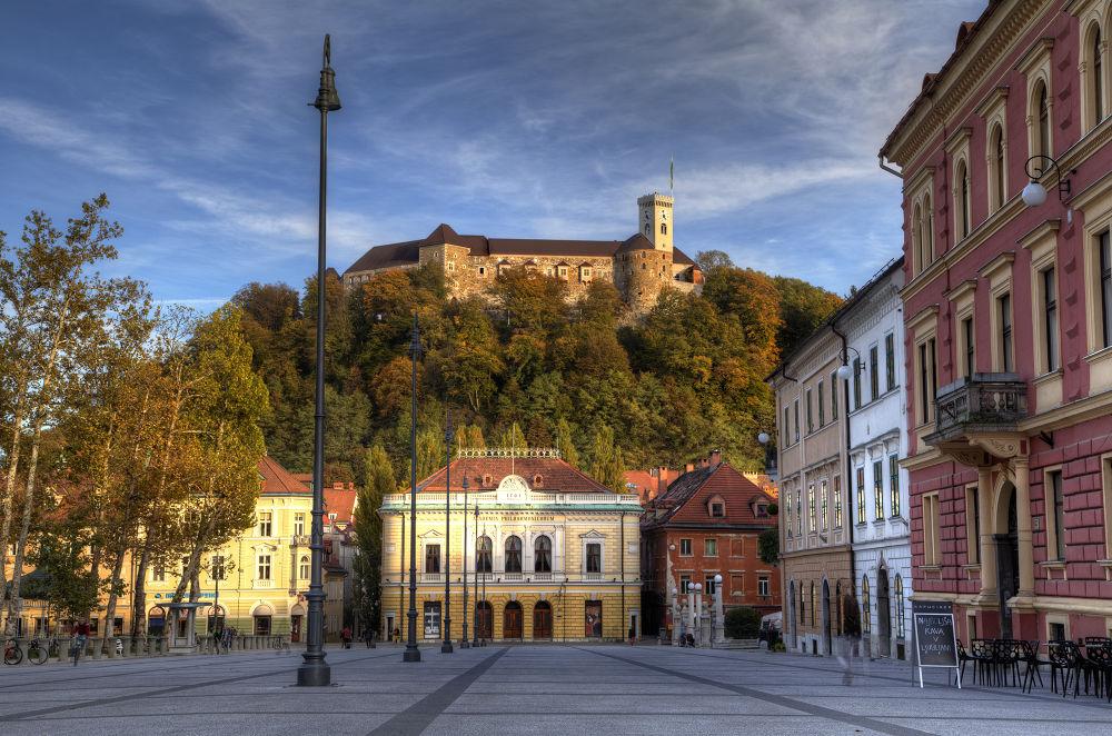 Photo in Architecture #ljubljana #slonevia #europe #castle