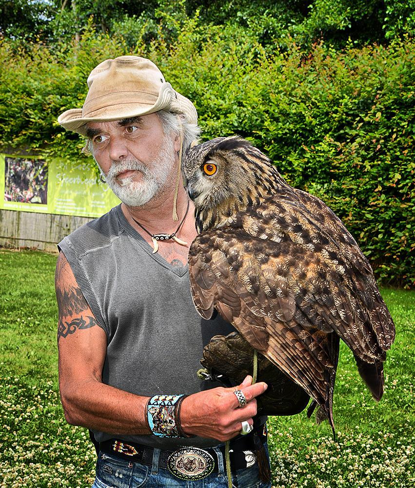 Photo in Random #owl #bird of prey #demonstration