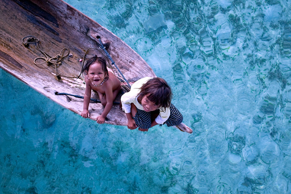 Photo in Journalism #bajau laut #sea gypsy #people #ethnic #indigenous #tribe #wooden boat #travel #mabul #island #semporna #sabah #malaysia #ypa2013