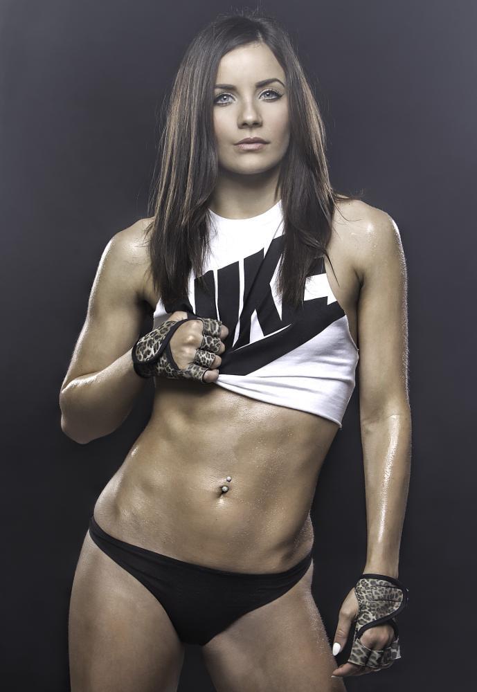 Photo in People #beauty #fitness model #gym #bodybuilding #sweat