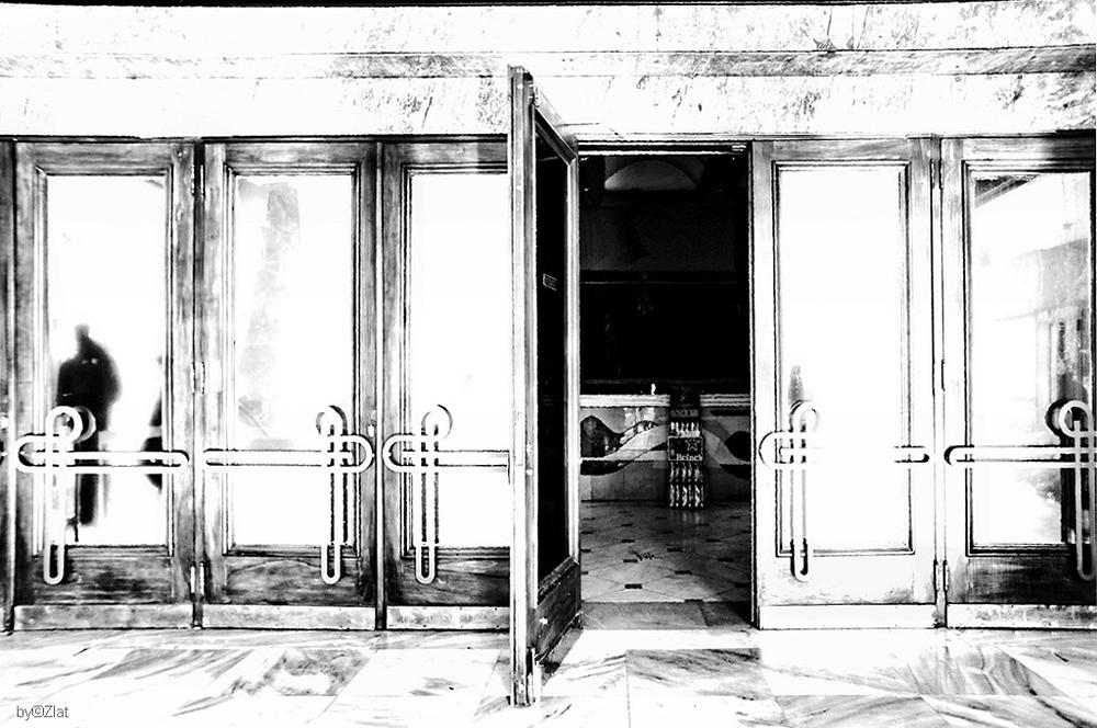 Photo in Black and White #sony #b&w #solitudes #entrance