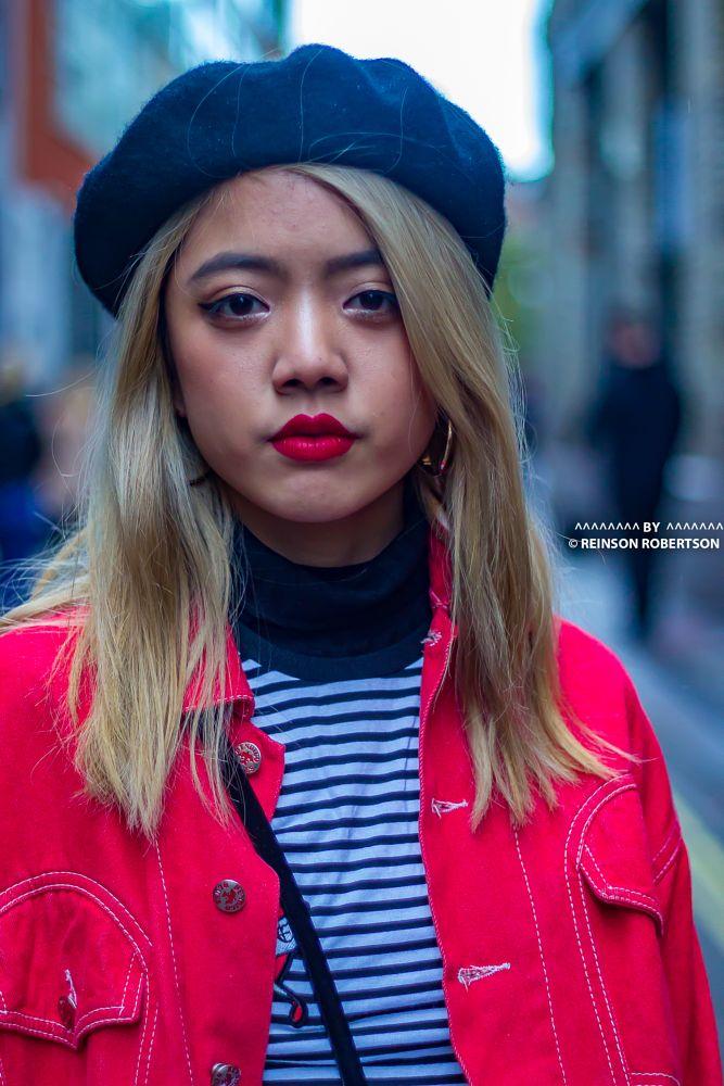 Photo in Portrait #london fashion week street sty