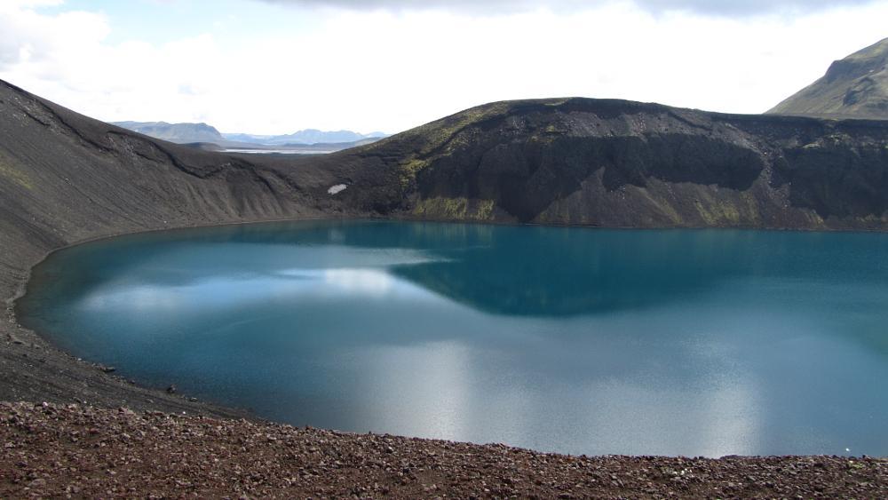 Photo in Landscape #kerið #volcano #dead volcano #volcano lake #grimsnes #iceland #golden circle