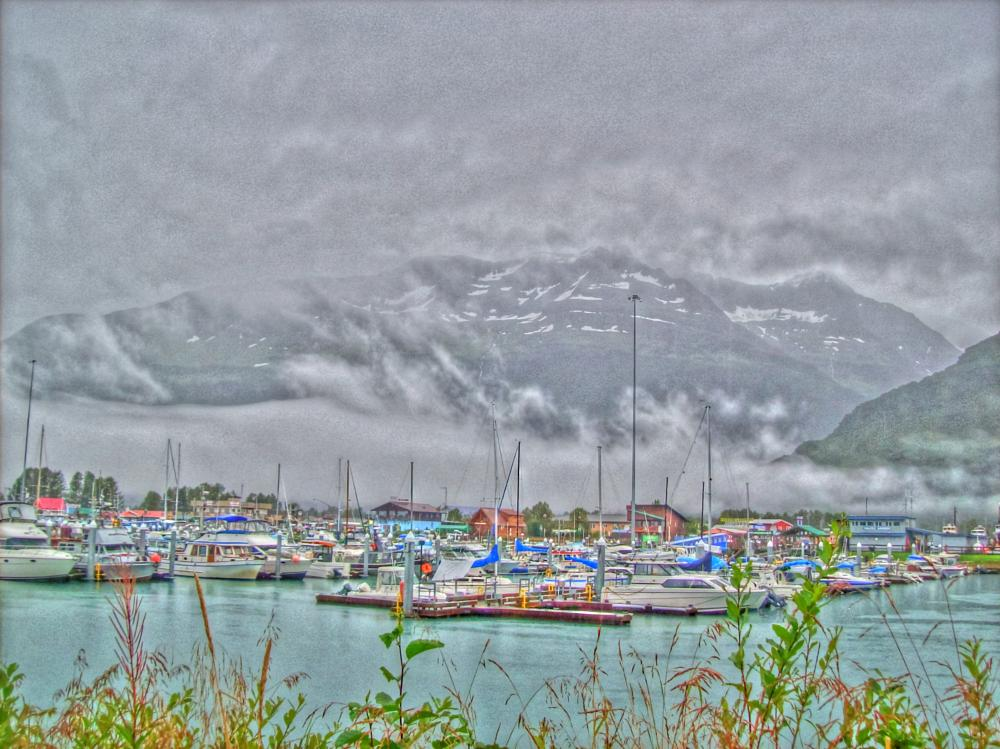 Photo in HDRI #harbor #alaska #hdr #boats