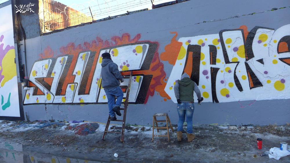 Photo in Street Photography #projectlogan #flashabc #flicksonflash #chicagograffiti