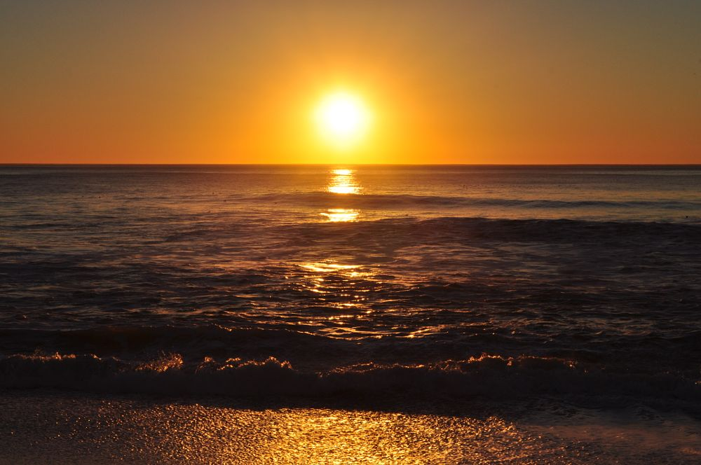 Photo in Sea and Sand #sunset #pacifica beach #pacific ocean