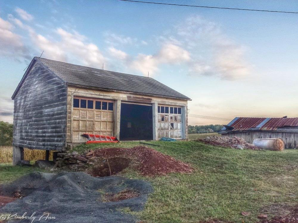 Photo in Architecture #farming #barns #old #godscountry #nature #countrylife #nj #dusk #dawn #sunset