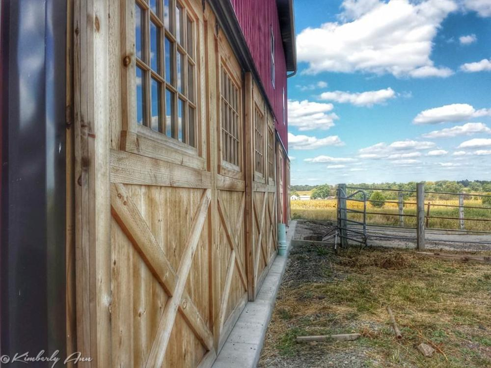Photo in Architecture #barns #doors #barndoors #farming #countryliving #godscountry