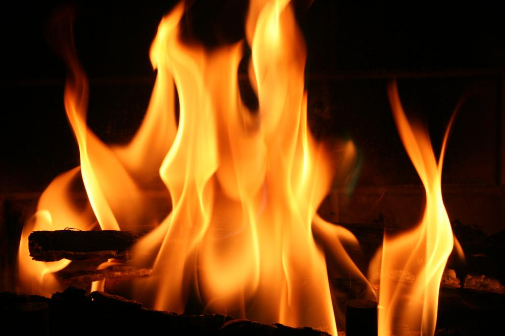 Photo in Random #fire #fire place #flames