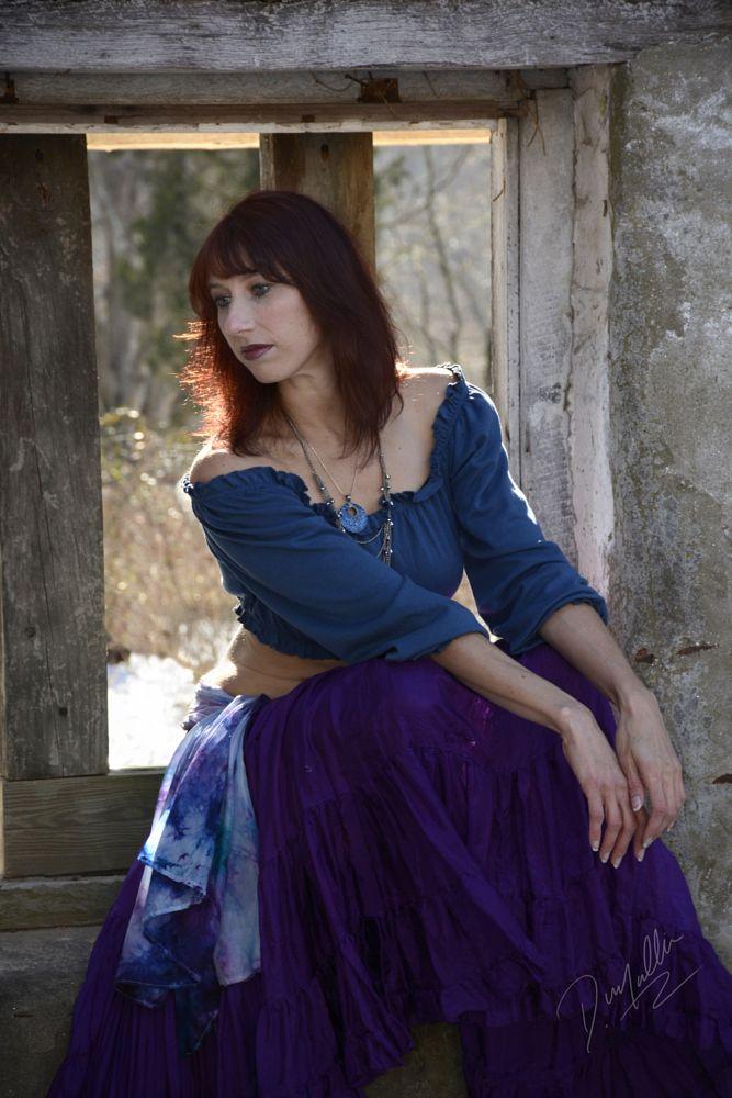 Photo in Portrait #rena #redhead #beauty #gypsy #environmental