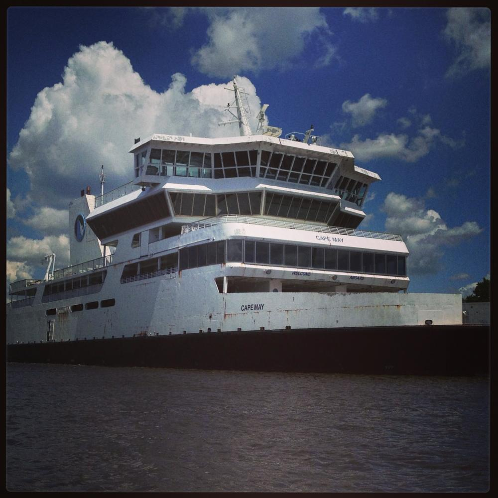 Photo in Sea and Sand #cape may #maurice river #new jersey #ferry
