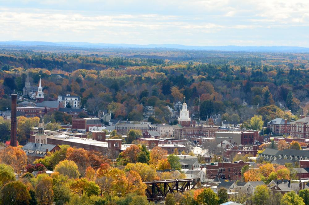 Photo in Landscape #garrison tower #dover nh #fall